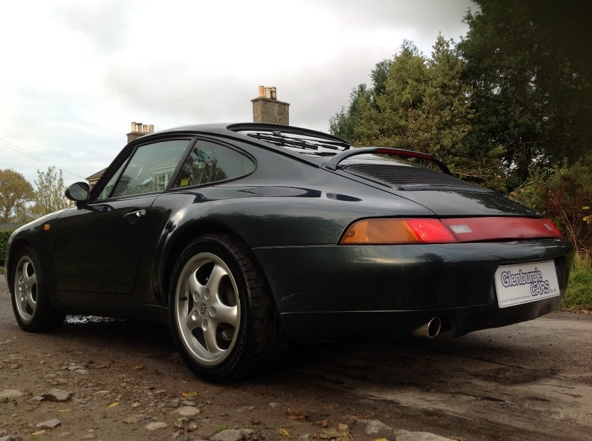 View PORSCHE 911 CLASSIC 993 CARRERA 3.6ltr COUPE MANUAL