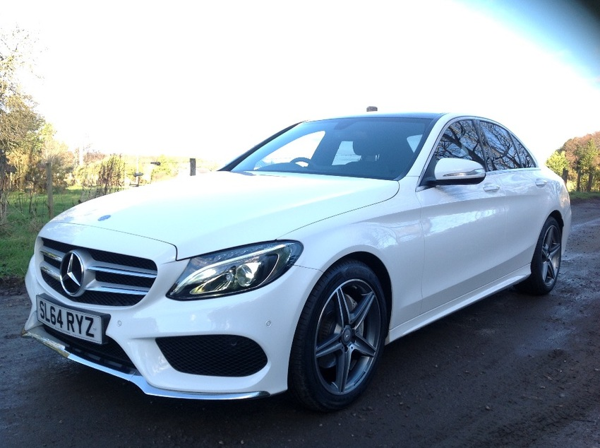 View MERCEDES C CLASS C220 BLUETEC 7G AUTO AMG LINE PREMIUM PLUS