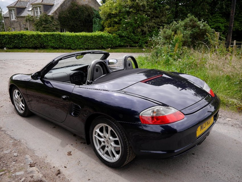 View PORSCHE BOXSTER 986 2.7 S MANUAL CONVERTIBLE CABRIOLET