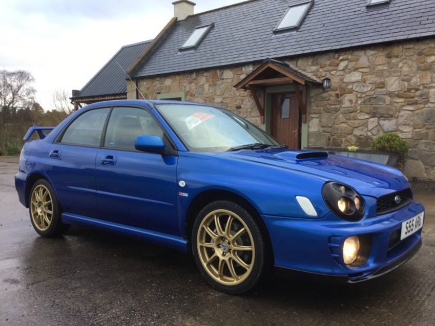 View SUBARU IMPREZA  2.0ltr WRX PRODRIVE UK 300 AWD - 110 Limited Edition