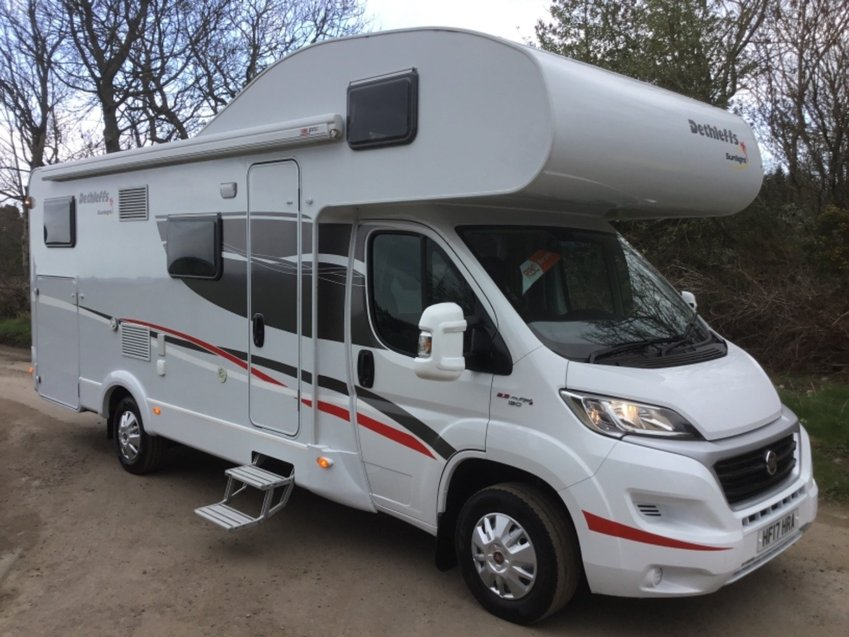 View FIAT DUCATO  2.3ltr MULTIJET 2 DETHLEFFS SUNLIGHT A70 6 BERTH MOTORHOME 130ps