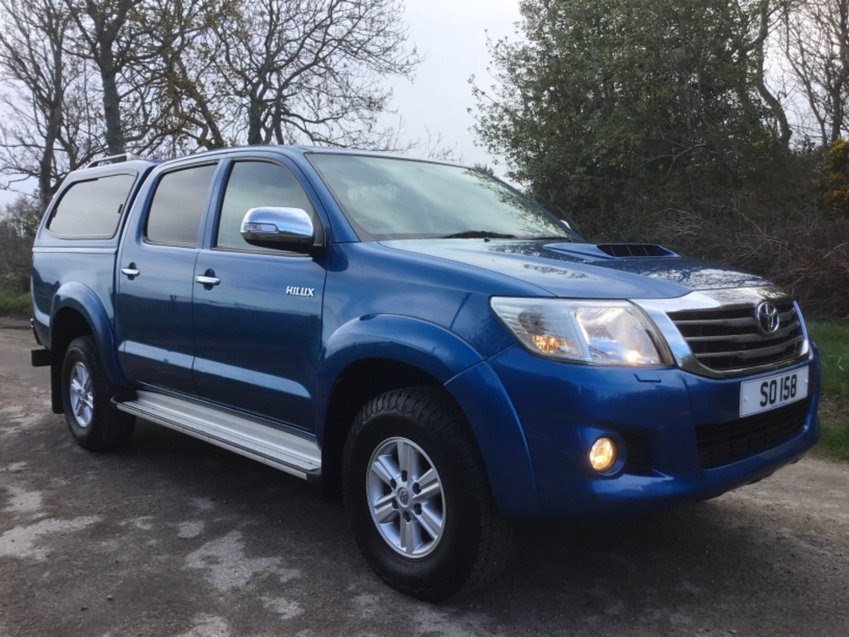 View TOYOTA HILUX 2.5ltr D-4D HL3 DOUBLE CAB 4x4 PICK UP 144ps