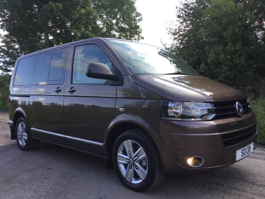 View VOLKSWAGEN CARAVELLE 2.0ltr BiTDi 180ps 4MOTION EXECUTIVE 4x4 T5.1 SWB 7 SEATS MPV