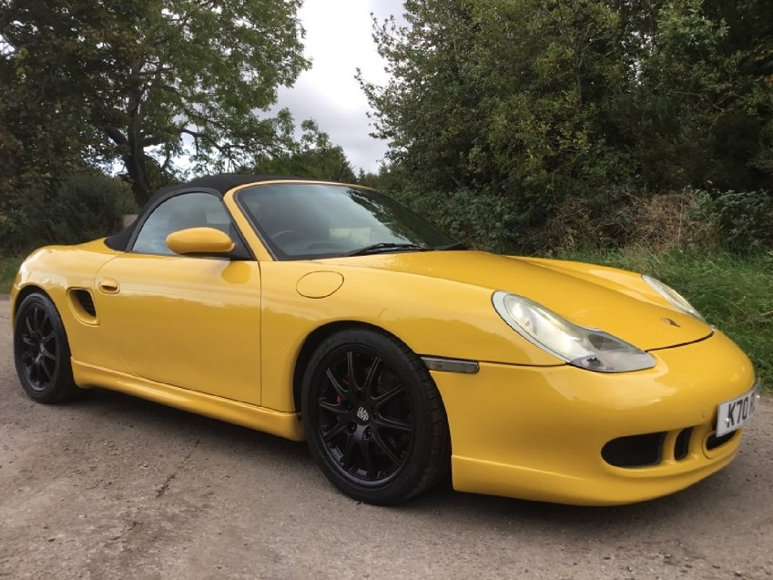 View PORSCHE BOXSTER 3.2ltr S SPORTS CONVERTIBLE 986 FACTORY AERO KIT 260ps