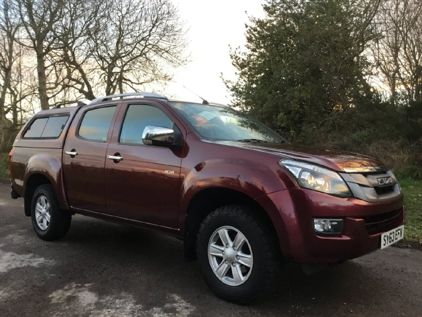 View ISUZU D-MAX 2.5ltr TWIN TURBO INTERCOOLER EIGER 4x4 DOUBLE CAB PICK UP 163ps