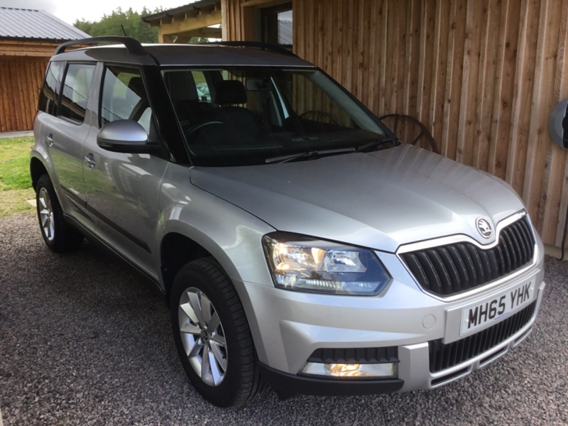 SKODA YETI 2.0ltr TDi CR S 4x4 OUTDOOR 5 DOOR ESTATE 110ps