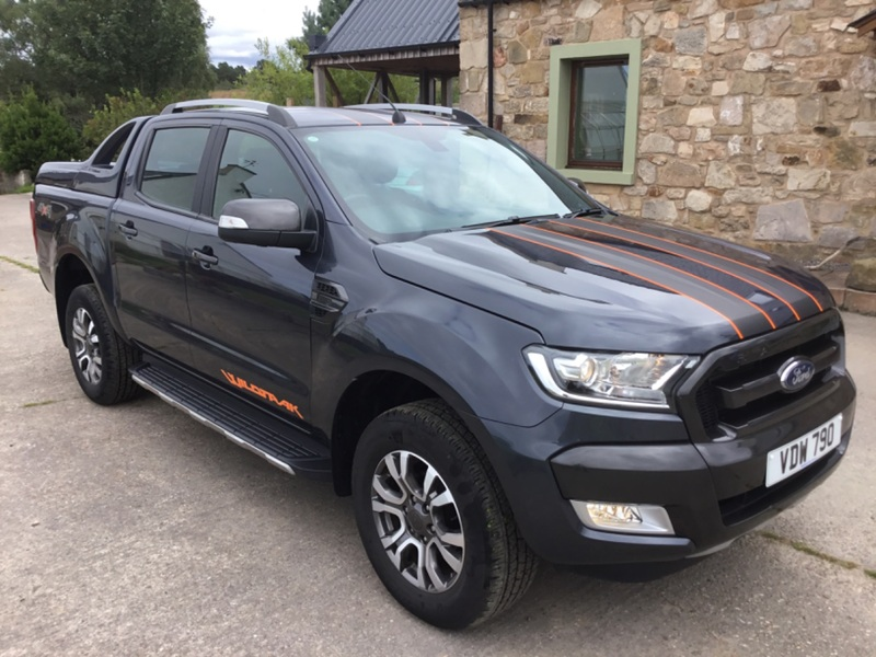 FORD RANGER 3.2ltr TDCI AUTO WILDTRAK 4X4 DOUBLE CAB PICK UP 200ps