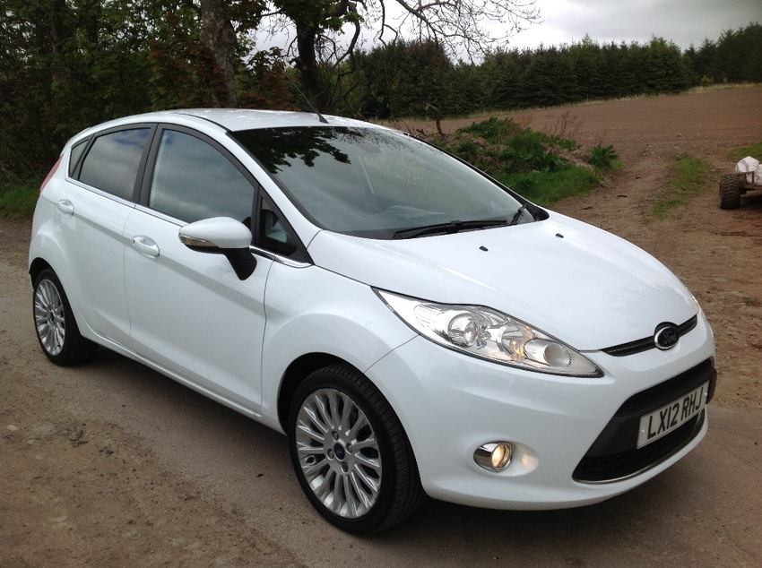 View FORD FIESTA 1.4 TITANIUM 5 DOOR HATCHBACK
