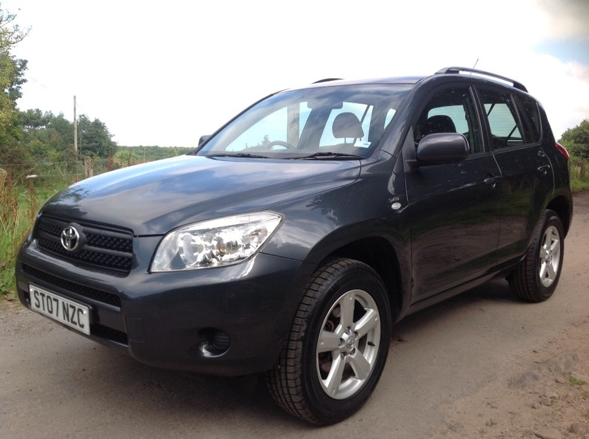 View TOYOTA RAV-4 XT3 D-4D ESTATE 4WD