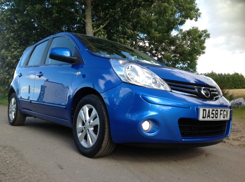 View NISSAN NOTE ACENTA 5 DOOR HATCHBACK AUTO